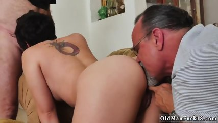 Fat hairy old man xxx More 200 years of bone for this luxurious brunette!