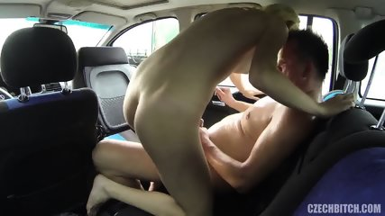 Whore Banged In The Car - scene 9
