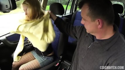 Whore Banged In The Car - scene 2