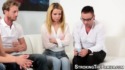 Teen in stepfamily group
