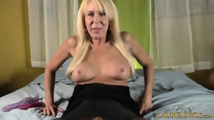 Mature Blonde Plays With Toys - scene 3