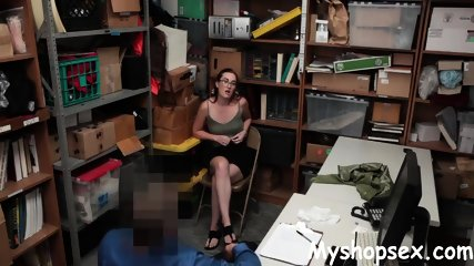 Teen Gets Inspected For Stealing
