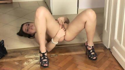 Cutie Rubs Her Pretty Vagina - scene 11