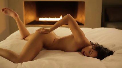 Masturbation In Front Of FireplaceNatalie - scene 9