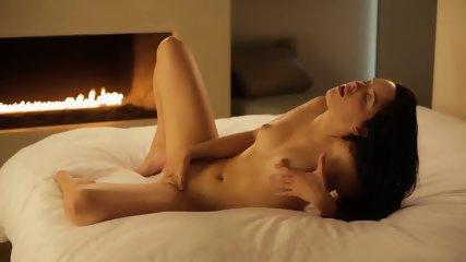 Masturbation In Front Of FireplaceNatalie - scene 3