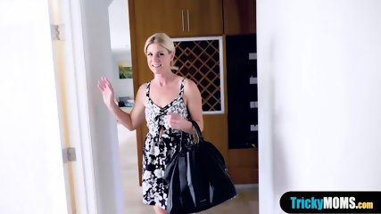 Stuffing my classy MILF stepmother like a turkey