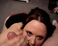 Wild Hand- and Blowjob - scene 1