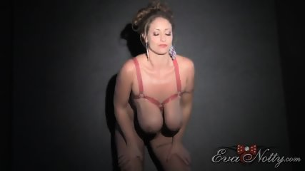Busty Girl Plays With Toys - scene 1