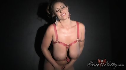 Busty Girl Plays With Toys - scene 4