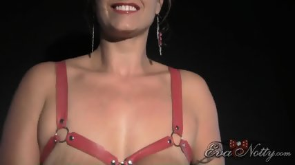 Busty Girl Plays With Toys - scene 5