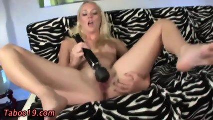 Toying Teen Stepdaughter - scene 4