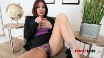 Lawyer milf seduces her stepson into drilling her hard and deep