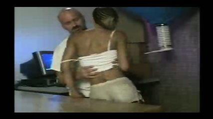 Ebony slut fucked by her boss - scene 2
