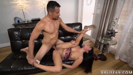Petite brunette anal xxx Rough ass-fuck bang-out for Lexy Bandera s birthday