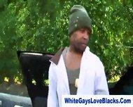 Amateur Black Gangster Sucks Whitey