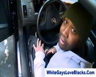 Black Thug Sucks Whiteys Dick - scene 1