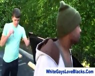 Black Thug Sucks Whiteys Dick - scene 8