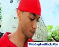 Black Gangster Sucks White Dick