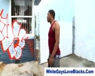 Black Gangster Sucks Whiteys Dick