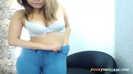 Girl gets dressed after being naughty