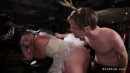 Elf anal fucking redhead Milf at orgy