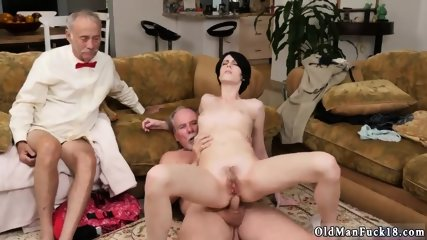 Old man young girl gang bang rough Alex Harper Answers the ad that to Frannkie placed and