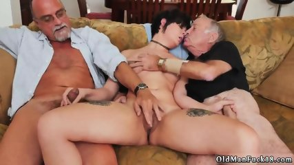 Fat old guy fucking and man gym More 200 years of cock for this uber-sexy brunette!