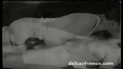 Vintage Porn from 1925 - scene 1