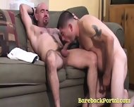 Horny Bears In Bareback Video
