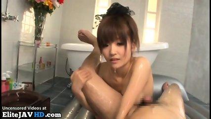 Jav massage sex with tiny 18yo beauty