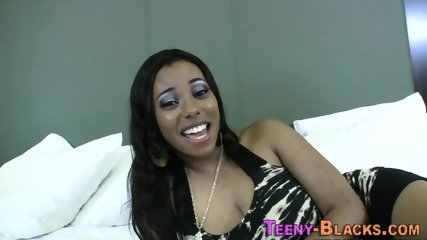 Ebony teen with big boobs