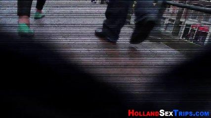 Dutch hooker dildo fucked