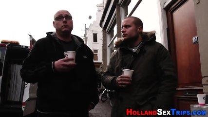Dutch whore mouth jizzed