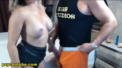 Hot Blonde Babe Gives Naughty Sex With Her Step Brother Live