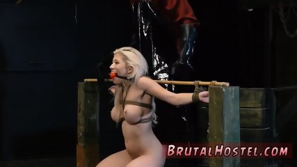 Female domination bondage and brutal bdsm pain Big-breasted light-haired cutie Cristi Ann