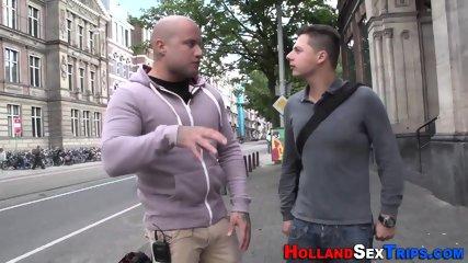 Inked dutch hooker fucked