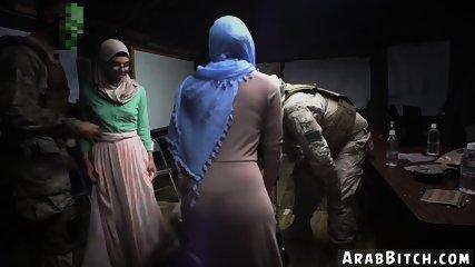 American fucks muslim and woman penis Sneaking in the Base!