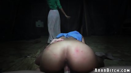 Arab man white female first time Sneaking in the Base!