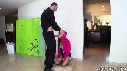 Hardcore oral creampie Nina North gets used and d