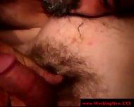 Gaysex Bluecollar Bear Gets A Facial - scene 9