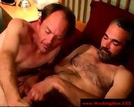 Gaysex Bluecollar Bear Gets A Facial - scene 10