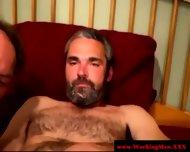 Gaysex Bluecollar Bear Gets A Facial - scene 11
