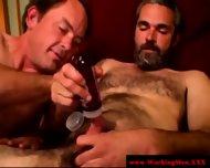 Gaysex Bluecollar Bear Gets A Facial - scene 12
