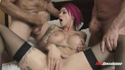 Brutal Gang Bang On Redhead Mom