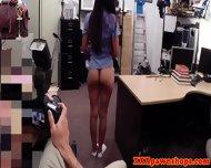 Pawnshop Slut Fingering Her Pussy - scene 8