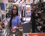 Pawnshop Slut Fingering Her Pussy - scene 3