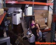 Busty Teen Pawnshop Customers Go Lesbian - scene 11