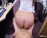 Sexy Big Tits Amateur Slut Pussy Fucked By Pawnkeeper - scene 12