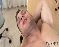 Lubricous Blowjob For Gay Stud - scene 4