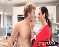 Big Boobs Mature Ariella Ferrera Fucking With Teen Couple - scene 6